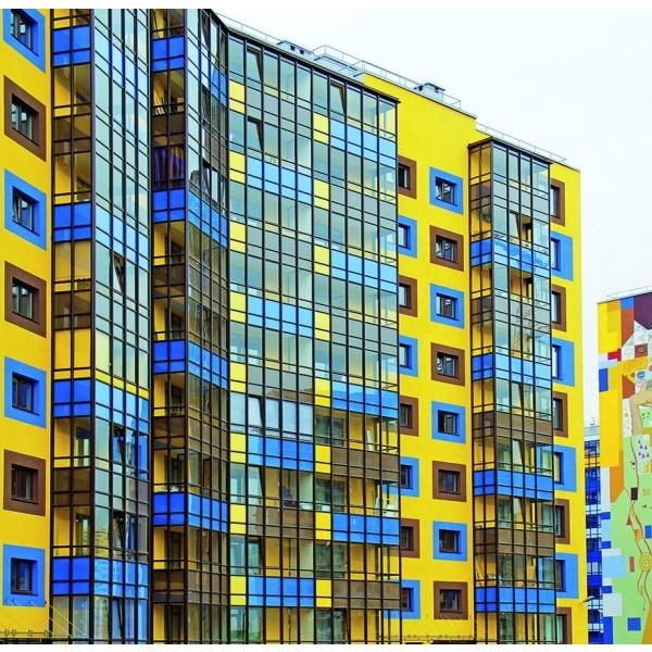 Витражная система без термоизоляции для сплошного остекления балконов и лоджий ALT VC65