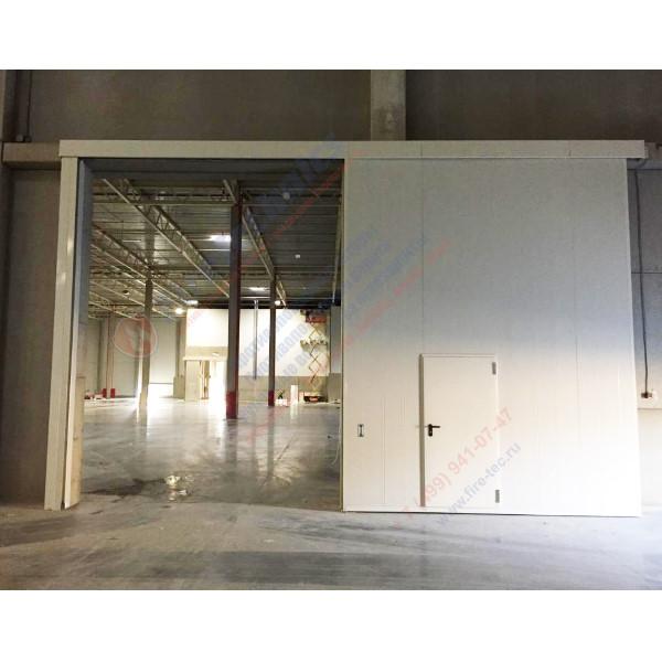 Откатные противопожарные ворота FireTechnics-P EI60, EI90, EI120